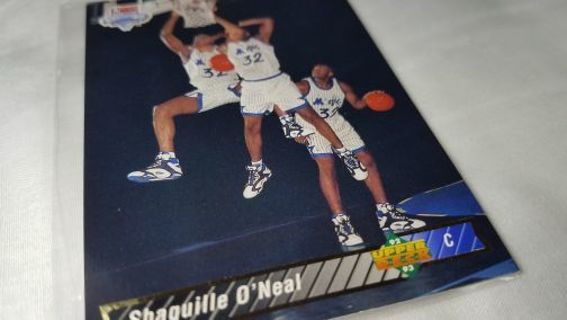 Free 1992 93 Upper Deck Shaquilleoneal Rookie Card Trade
