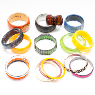 1 Pound lb. of Costume Bracelets Destash