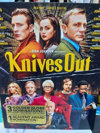 KNIVES OUT ((  NEW RELEASE ))