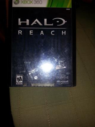 Xbox 360 Halo game