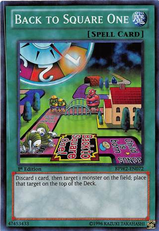 Yu-Gi-Oh! – Back To Square One- FOIL  – Free Shipping with GIN