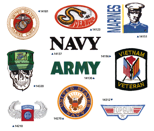 Military Designs For Embroidery Machines