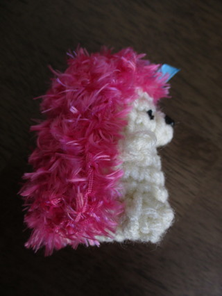 Hedgehog. New. Crocheted by Me.