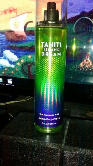Bath & Body Works Tahiti Island Dream 8oz Fragrance Mist ~ NEW
