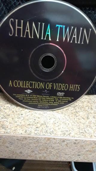 SHANIA TWAIN DVD COLLECTION VIDIO HITS