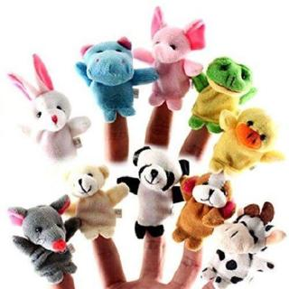 10PC animal Finger Puppets
