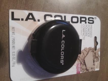 L.A Colors Pressed Powder Beige