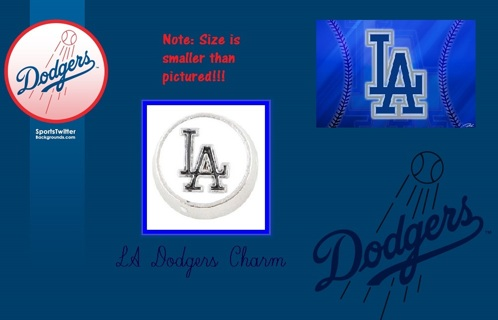 ⚾⚾⚾ LA Dodgers ⚾⚾⚾ Living Locket Charm(s) ☆VERIFIED USERS ONLY PLEASE☆