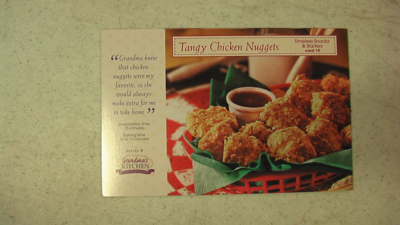 Free: 8 GRANDMA\'S KITCHEN Recipe Cards - Card # 19 s - Other Home ...