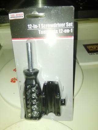 12-in-1 screwdriver set