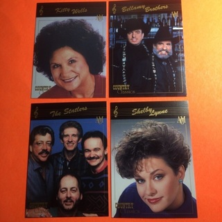 4 Country Classics 1992 Cards!
