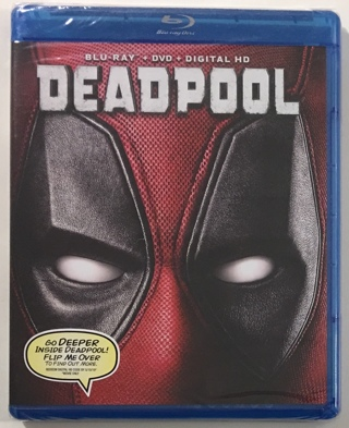 DEADPOOL Blu-Ray + DVD + Digital HD Movie - Brand New Factory Sealed!