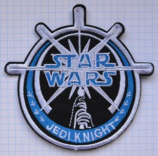 STAR WARS jedi knight Cloth Iron On Patch