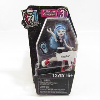 """Monster High Collection 3 Ghoulia Mini Action Figure 2.5"""" NEW"""
