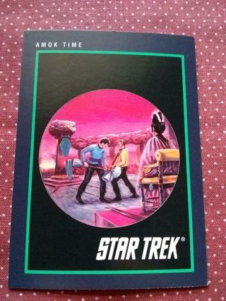 Star Trek Trading Card