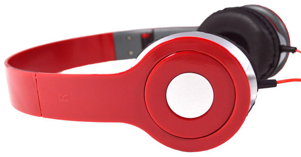 NEW DJ Style Stereo Headphones 3.5mm  (5 colors)  from USA