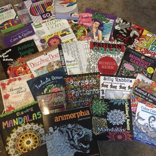 ULTIMATE coloring book  BOX 21 Books and supplies