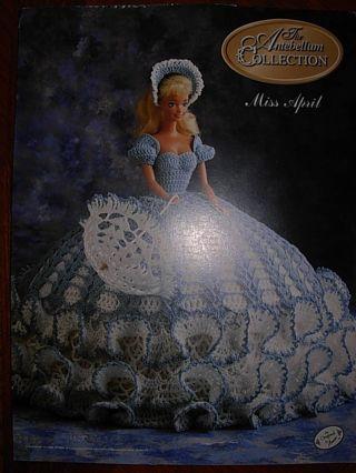 Free Annies Antebellum Miss April Barbie Crochet Pattern