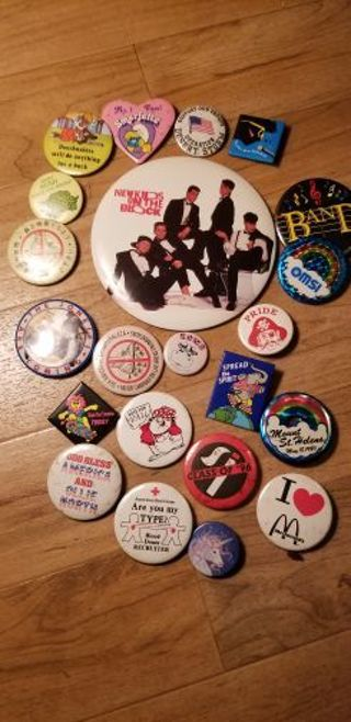 Pin collection