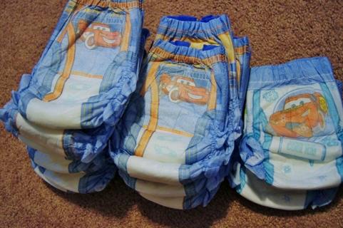 Free: **Nineteen** Huggies Pull-Ups Diapers w/ Disney Cars ...