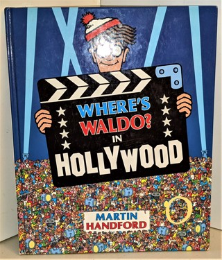 1993 WHERE'S WALDO IN HOLLYWOOD by Martin Handford hardcover 24 pages -