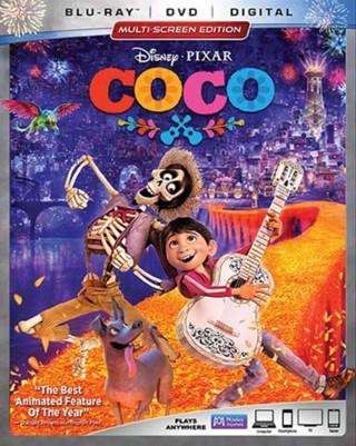 Coco - English/French/Spanish - Blu-ray/DVD - Inc Digital Copy/Code - 2017