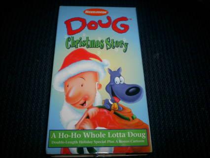 Doug Christmas Story Vhs.Free Doug Christmas Story Vhs Listia Com Auctions For