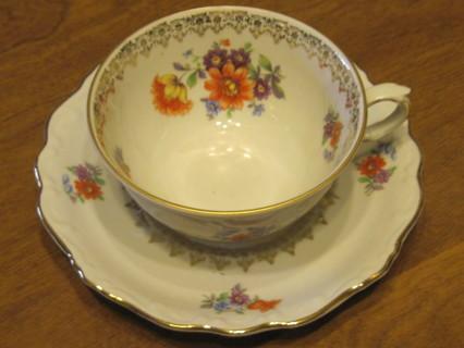 Bavaria, Schumann Tea Cup & Saucer