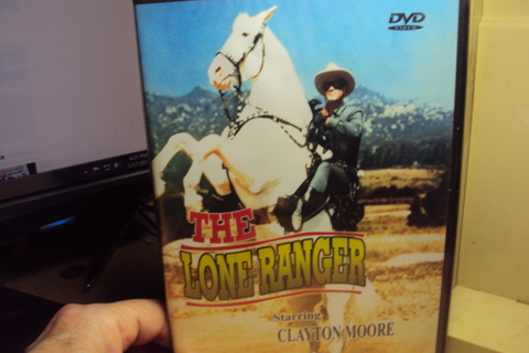 """""""The Lone Ranger"""" starring Clayton Moore."""