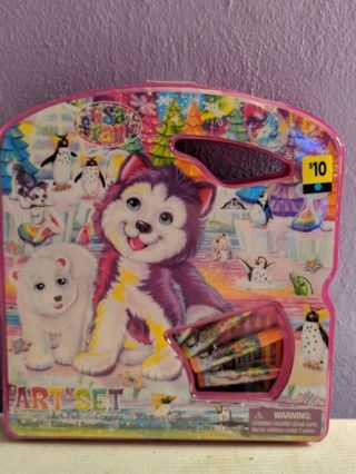 BNWT Lisa Frank Art Set