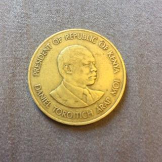 Kenya 1984 coin