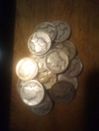 1 Random 90% Silver Dime