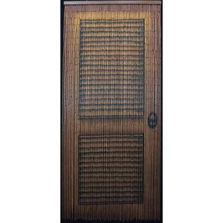 String Beaded Curtain Bamboo Divider Louver Door Handmade Doorways Art Hanging