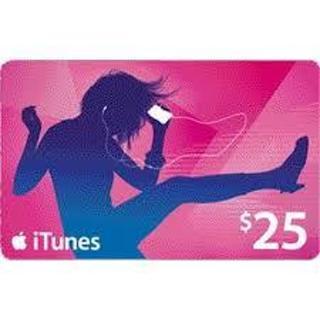 $25 Apple/iTunes gift ecard