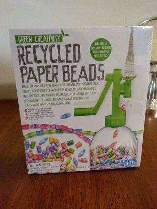 4M Green Creativity - Recycled Paper Bead Maker