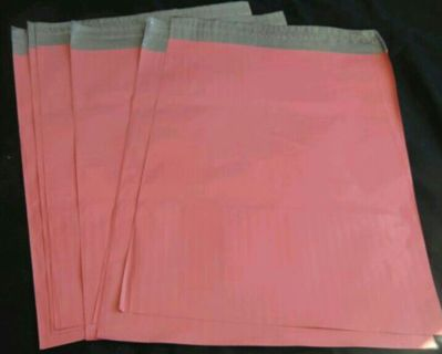 6 POLY BAGS. SELF-SEALING, WATERPROOF. 9 x 12. 10 WITH GIN!! COLOR COULD CHANGE!!
