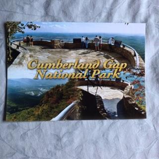 Cumberland Gap National Park Postcard