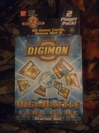 Didimon digi-battle card game brand new