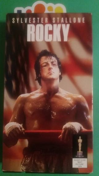 VHS movie  ROCKY  stallone  free shipping