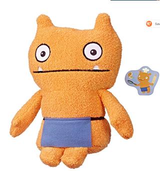 """⭐️⭐️⭐️⭐️Hasbro Uglydolls Warm Wishes Wage Plush Toy, 10"""" Tall"""
