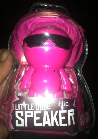 Free Ihip Little Dude Big Sound Rechargeable Mini Speaker With
