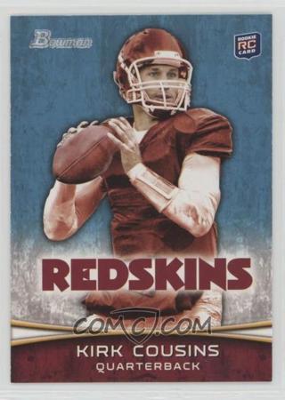 KIRK COUSINS 2012 BOWMAN RC ROOKIE TRADING CARD