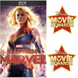 "DISNEY MOVIE REWARDS POINTS for ""CAPTAIN MARVEL"" from DVD"