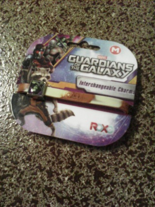 Marvel Guardians of the Galaxy interchangeable charms