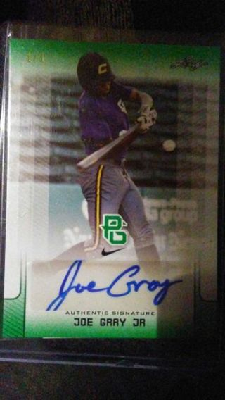 2017 leaf perfect game 1/1! CERTIFIED AUTOGRAPH