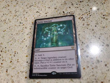 Mtg Tyrite Sanctum kaldheim rare card