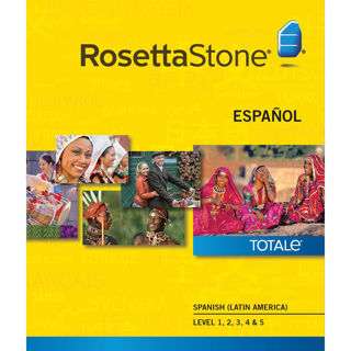 Rosetta Stone Spanish (Latin American) Levels 1-5 set TOTALe V.4