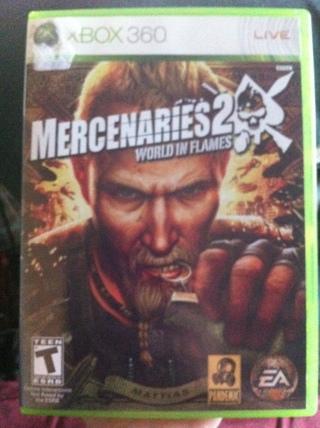 Mercenaries 2 World in Flames for xbox 360