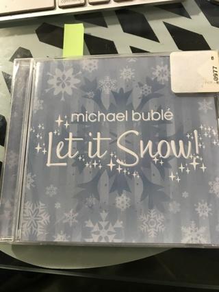 Michael Bublé - Let it snow CD - Brand New