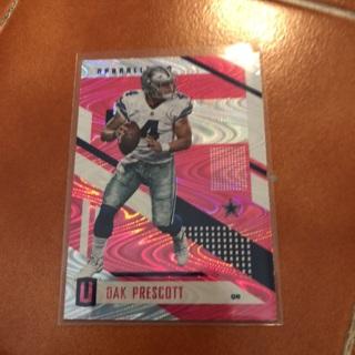 Dallas Cowboys Panini Unparalleled Dak Prescott